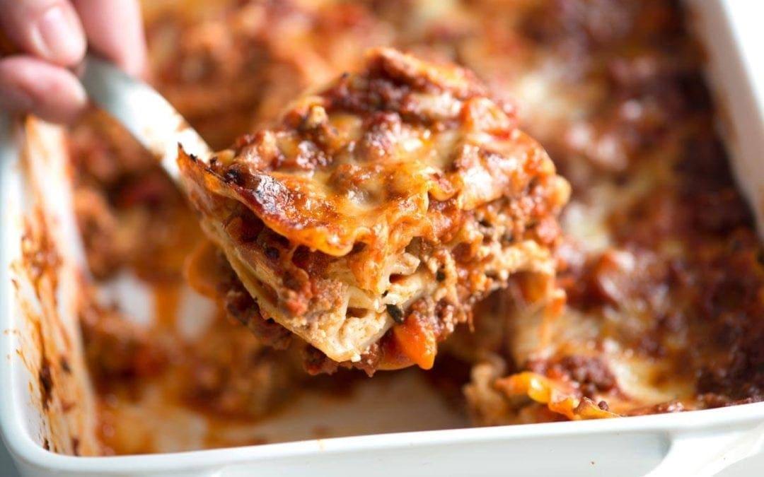 06/17 和Andrea一起做超美味千層麵Lasagne!