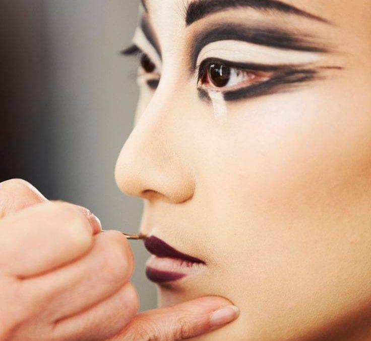09/09 時裝秀模特兒的義大利大師彩妝: Fashion Make up