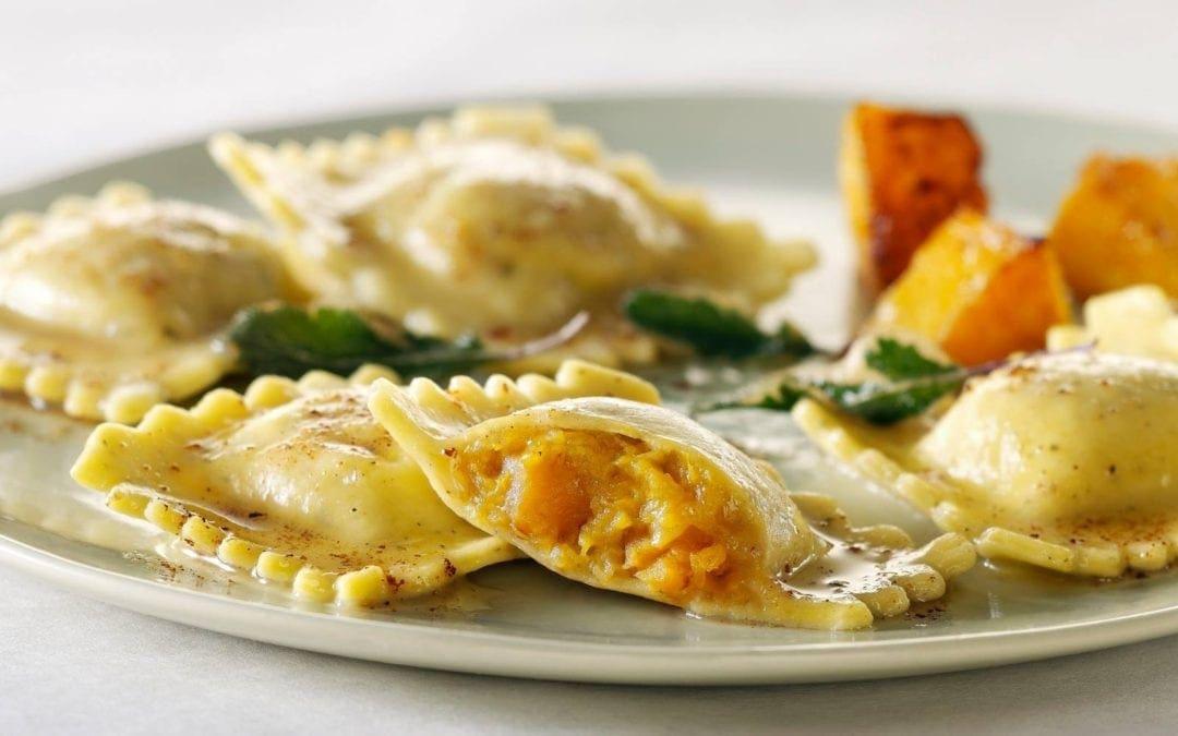 09/30 Tortellini: 南瓜佐莫札瑞拉起司 Pumpkin and Mozzarella!